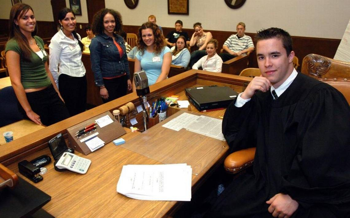 Teen court juries